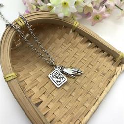 Tarot Necklace Tarot Reader Palmistry Fortune Tellar Palm Re
