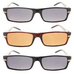 Reading Glasses Tinted Sunglasses Full Frame Readers for Men