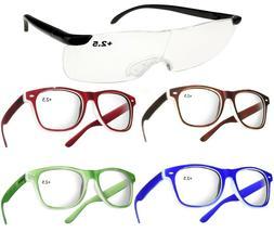 Unisex Women Men READING GLASSES +2.5 Eyeglasses Trendy Read