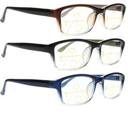 Wild Color Progressive Reading Glasses Varifocal Presbyopia