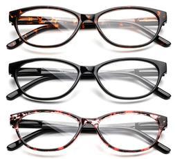 Women Fashion Cat Eyes Reading Glasses Fashion Slim Cateye R