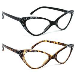 Women Retro Vintage Cat Eye Reading Glasses Readers +1.25 to