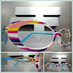 Women's CLASSIC RETRO Style Reading Eye Glasses Readers Mult