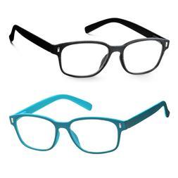 Women's Readers Fashion Reading Glasses With Case Multi Colo