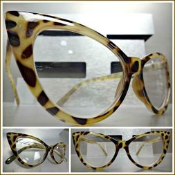 Womens EXAGGERATED RETRO Cat Eye Style READING Eye Glasses R